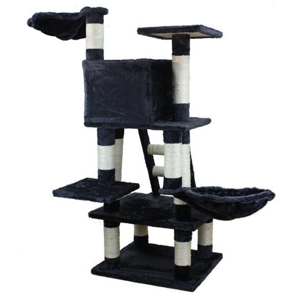 katzenkratzbaum katzenbaum kratzbaum kiara f r katzen 115. Black Bedroom Furniture Sets. Home Design Ideas