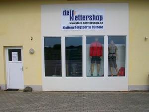 Dein-Klettershop.de retail shop exterior view