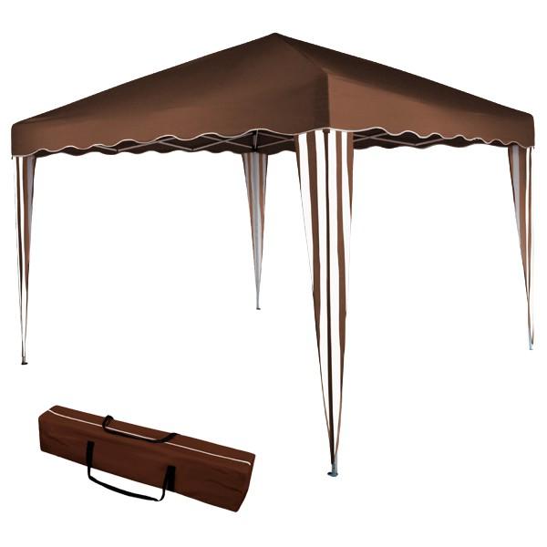 pavillon paradise gartenzelt faltpavillon 3 x 3m ohne mit 2 oder 4 seitenteilen. Black Bedroom Furniture Sets. Home Design Ideas