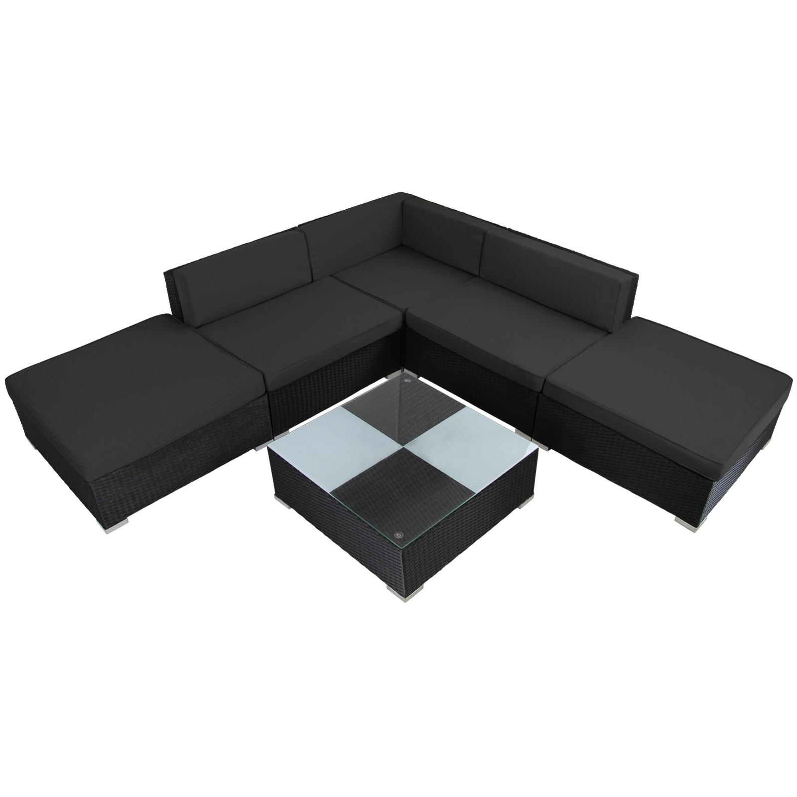 poly rattan lounge gartengarnitur arizona gartenm bel. Black Bedroom Furniture Sets. Home Design Ideas