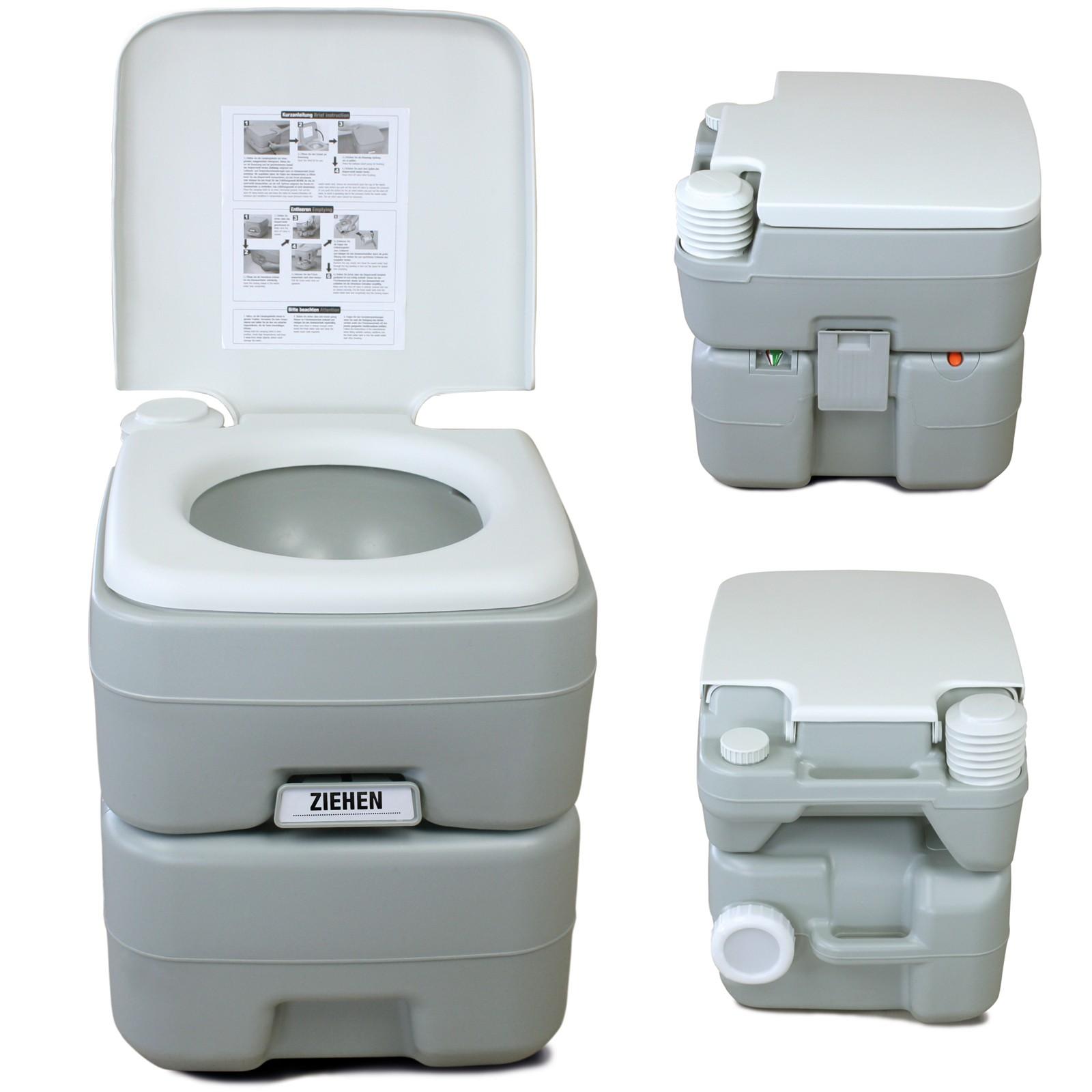 Wc toilette portatile chimico fresh deluxe campeggio caravan roulotte bagno ebay - Bagno portatile ...