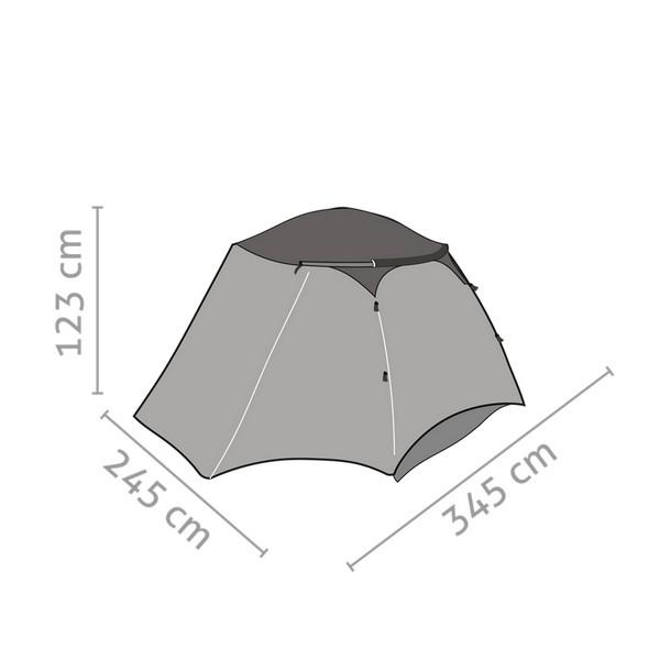 Sierra Leone 2 Zelt : Zelt sierra leone iii von salewa personen camping