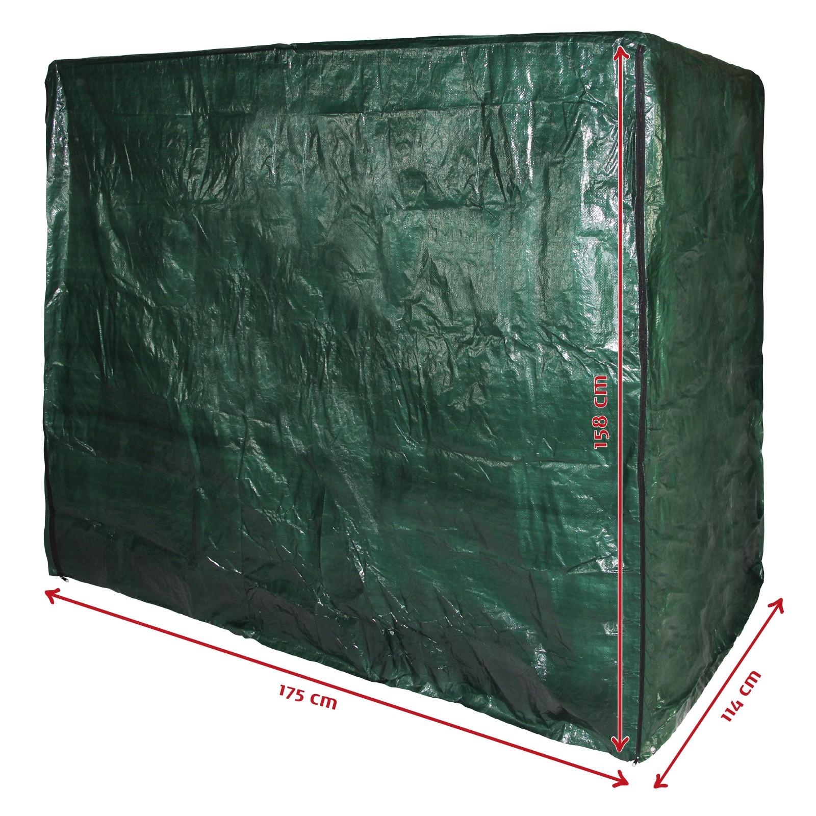 abdeckung h lle f r 3 sitzer hollywoodschaukel schutzh lle abdeckhaube plane ebay. Black Bedroom Furniture Sets. Home Design Ideas