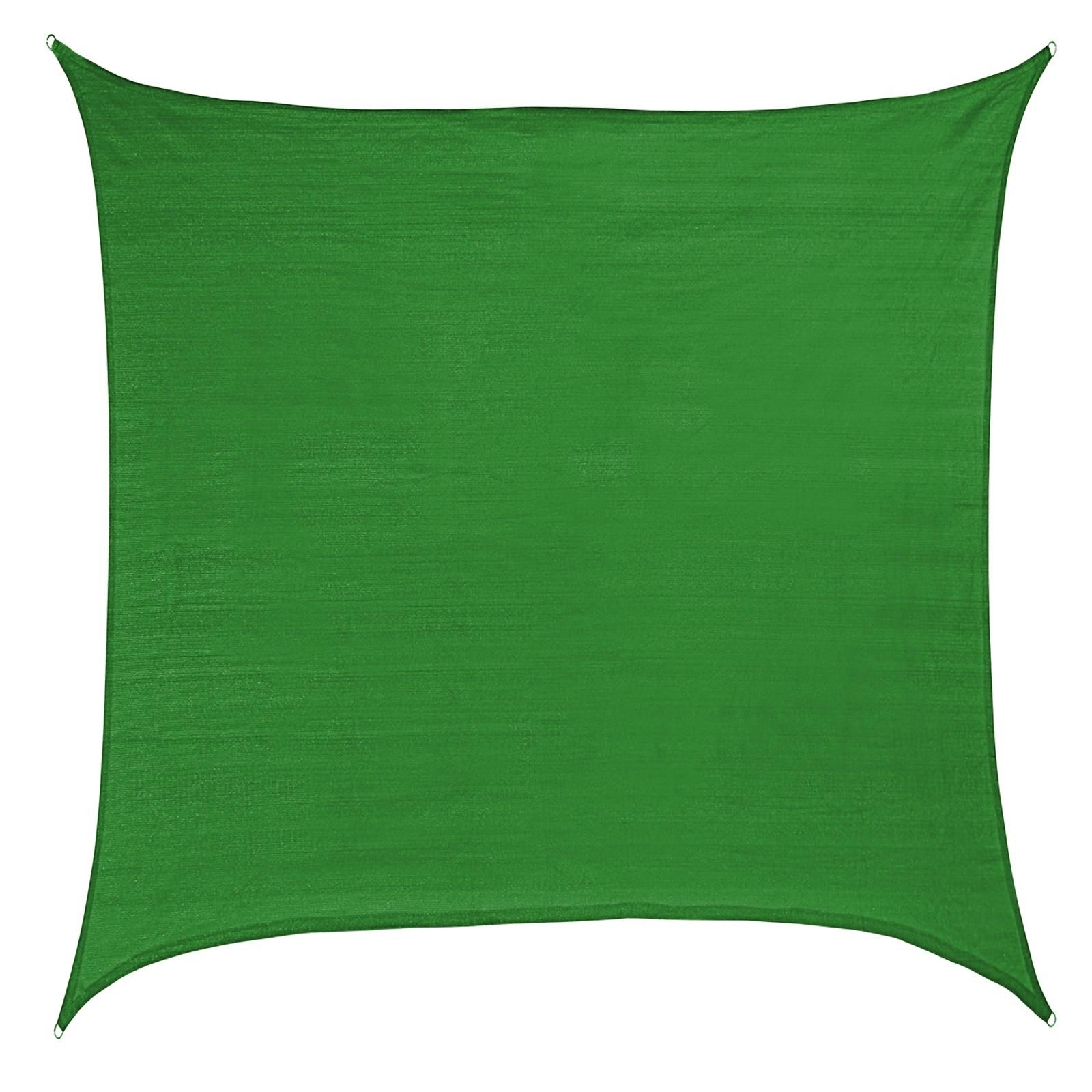 sonnensegel sun diego quadratisch 5 x 5 m 100 hdpe in. Black Bedroom Furniture Sets. Home Design Ideas