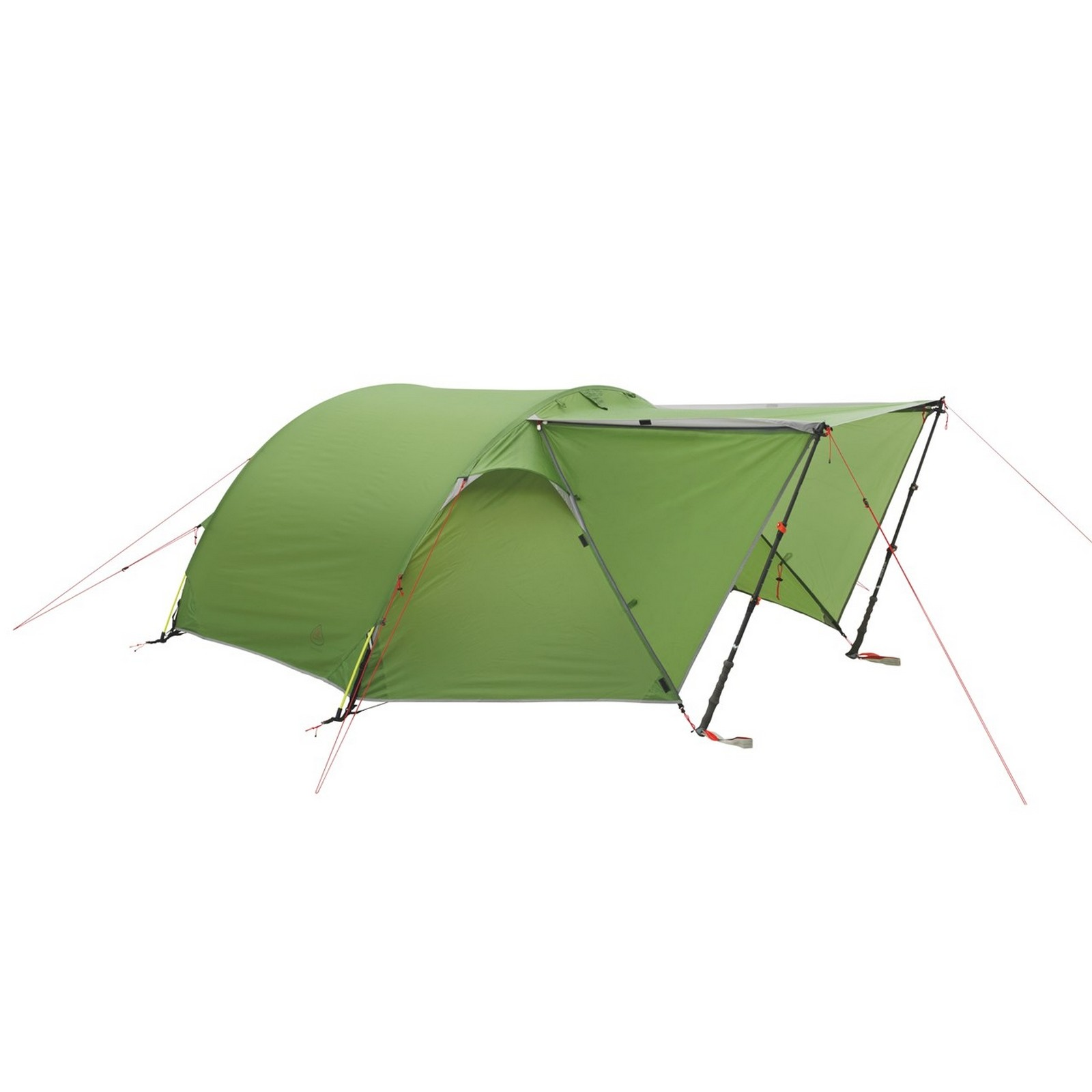 Zelt Für Wanderer : Zelt tunnelzelt campingzelt partnerzelt goshawk für