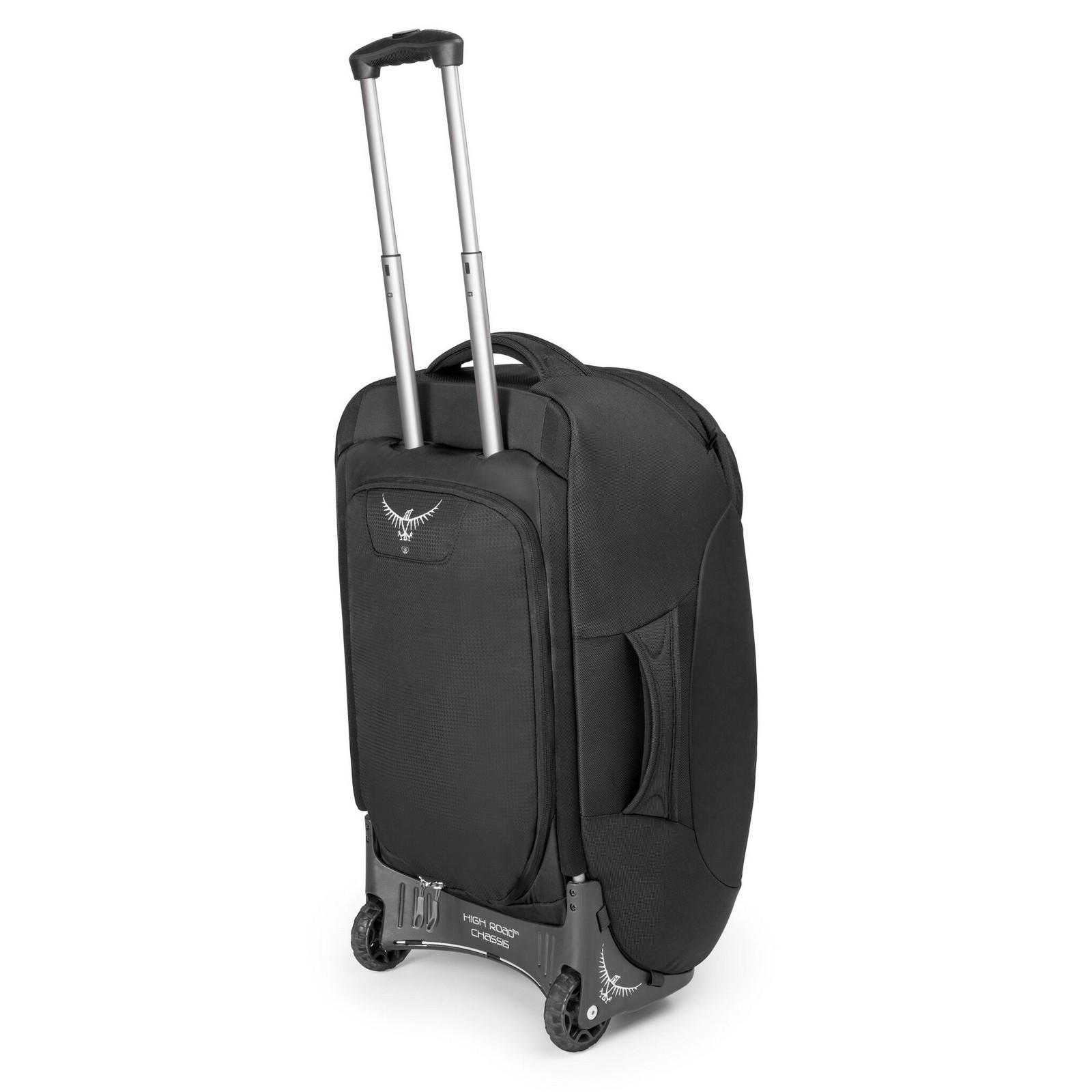 rollentasche rucksack trolley kofferrucksack tasche sojourn 60 von osprey ebay. Black Bedroom Furniture Sets. Home Design Ideas