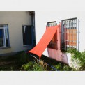 Sun Shade Sail Canopy SHADOW 4m x 4m in 2 colours by BB Sport