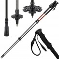 Telescope Poles WILD WEST Carbon Trekking Pole with Clamping Lock by BB Sport