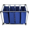Laundry bag laundry sorter SVEN with four compartments by BB Sport