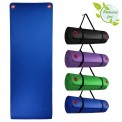 Yoga –Mat PROFESSIONAL in different Sizes and Colours Yogamat with Suspension Eyelets