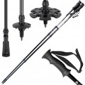 Lightweight, 3-part Telescope Pole, Snow Shoe Pole Hiker 5000