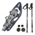 Combi-package: snowshoe Odyssey INOOK + light telescope pole Hiker 5000