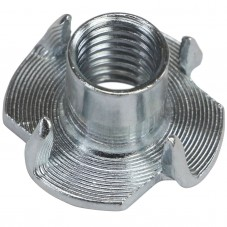 500 zinc-plated T-nuts M 10