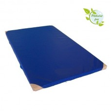 Gym Mat 200 x 100 x 8 cm with Anti-Slip Base and Leather Corners RG 80 (soft)