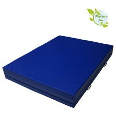 Crash Mat 200 x 100 x 20 cm with Carry Handles and Anti-Slip Base