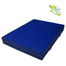 Crash Mat 200 x 100 x 25 cm with Carry Handles and Anti-Slip Base