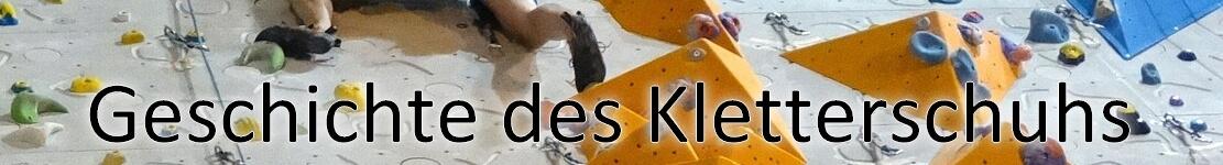 Geschichte der Kletterschuhe Dein-Klettershop.de