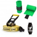 Slackline package Gibbon CLASSIC LINE X13 with integrated ratchet protection + tree protection
