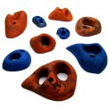 9 Climbing Holds Hole Sizes M to XXL - Special Hole Set