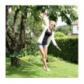 Slackline 10 m Evolution 2.0 (loadable up to 3 tons) + 2 x Tree Protection + Ratchet Protection by BB Sport