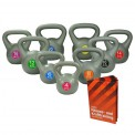 Professional Quality Kettlebell 4 kg - 20 kg by BB Sport inclusive of Training Guide